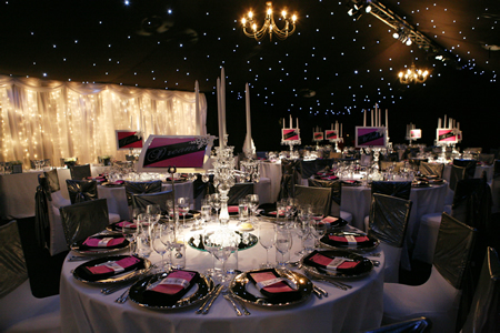 London Caterer Mackintosh 39s Caterers magical winter wonderland wedding